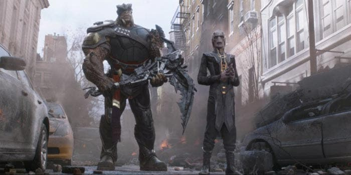 El easter egg de Capitana Marvel en Vengadores: Infinity War Blu Ray