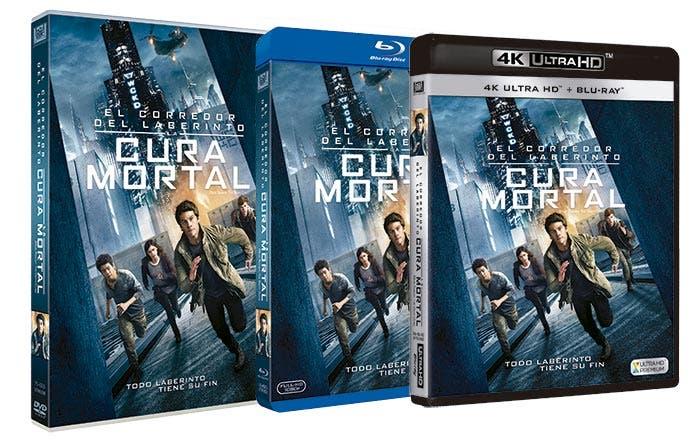 El corredor del laberinto: La cura mortal - DVD - Blu-ray
