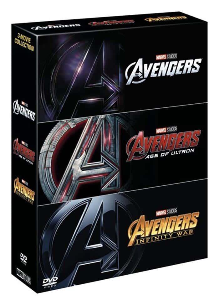 El error de Vengadores: Infinity War Blu Ray (Marvel Studios)