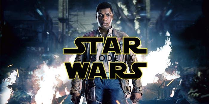 Finn (John Boyega) en Star Wars 9