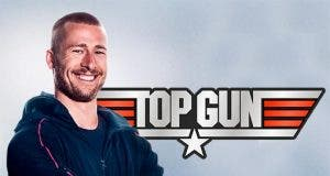 Glen Powell ficha por Top Gun: Maverick