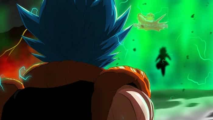 Gogeta Blue en Dragon Ball Super: Broly