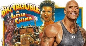 Golpe en la Pequeña China Dwayne Johnson