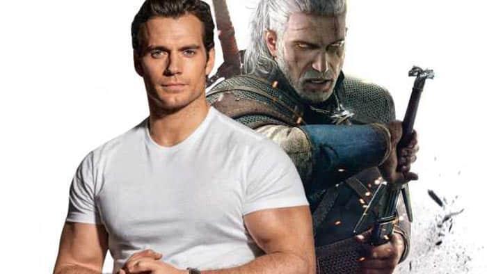 Henry Cavill como Geralt de Rivia en la serie de The Witcher para Netflix
