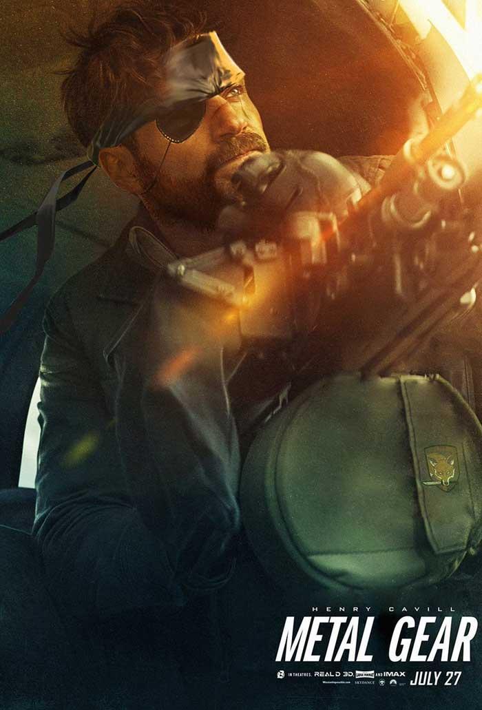 Henry Cavill como Snake en Metal Gear Solid