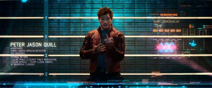 Imagen censurada de Guardianes de la galaxia