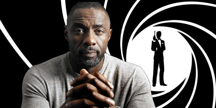 Idris Elba como James Bond