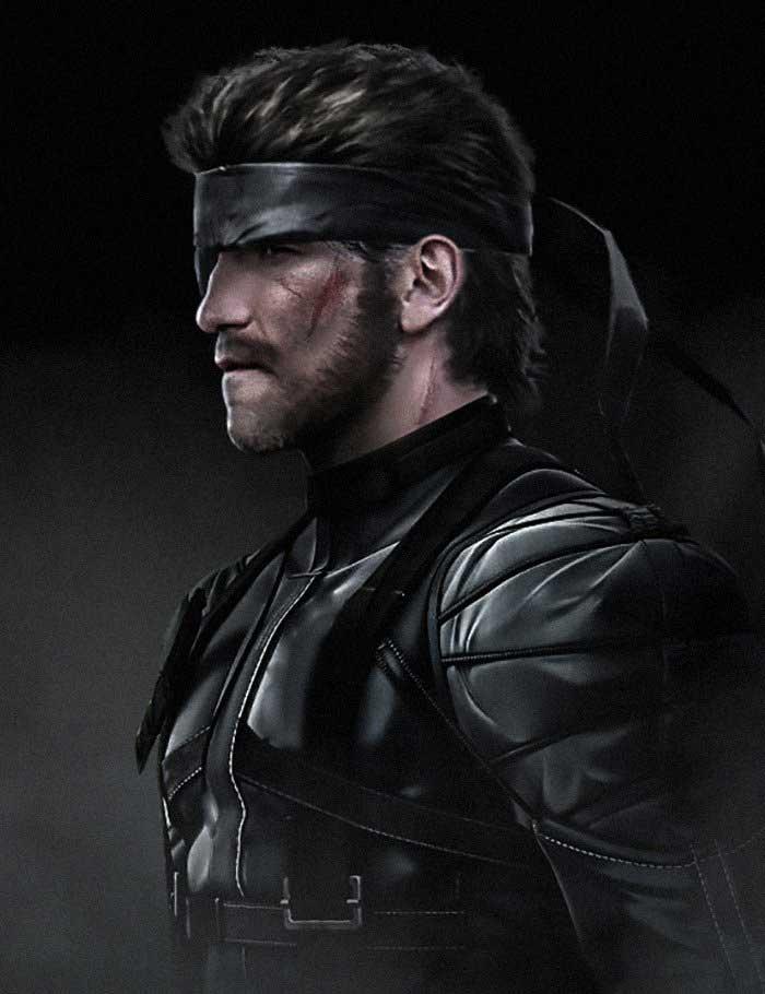 Jon Bernthal como Snake en Metal Gear Solid