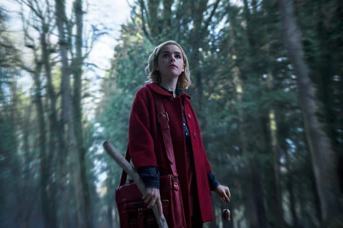 Sabrina Spellman en Las escalofriantes aventuras de Sabrina (Netflix)
