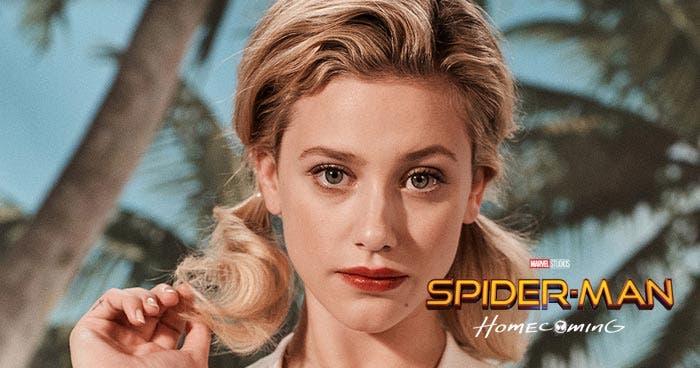 Lili Reinhart como Gwen Stacy en Spider-Man: Lejos de casa