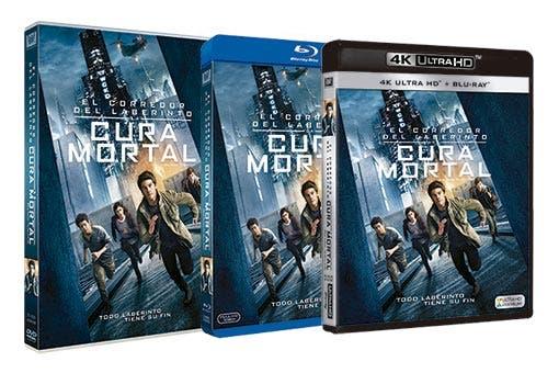El corredor del laberinto: La cura mortal - DVD - Blu-ray dest