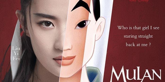 Liu Yifei como Mulan