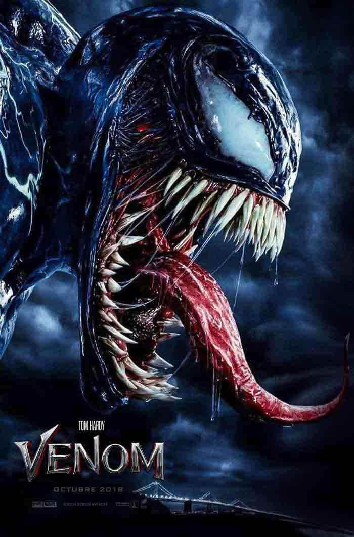 El nuevo póster de Venom (Marvel) Tom Hardy