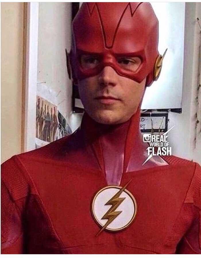 El nuevo traje de Grant Gustin en The Flash temporada 5