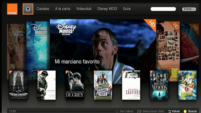 Orange TV | Alquiler online de películas
