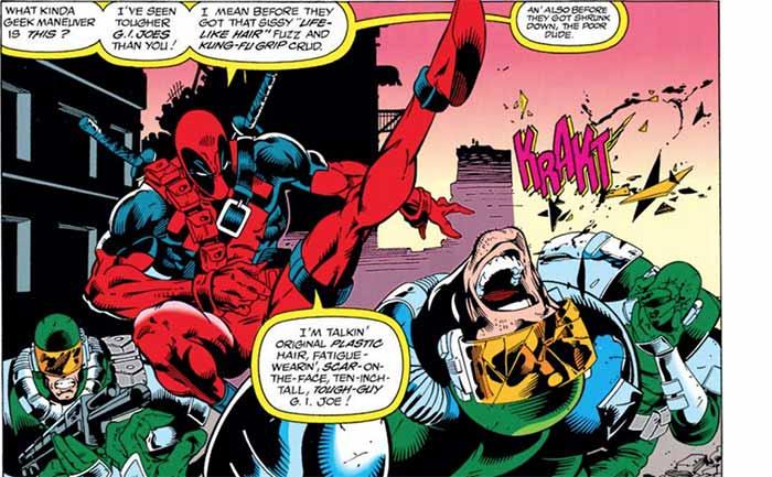 Persecución en círculos (Deadpool 3)