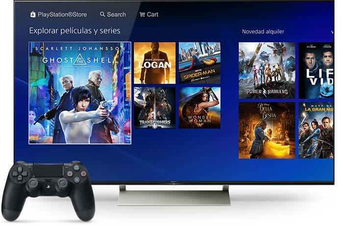 PlayStation Store | Alquiler online de películas
