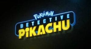 Logotipo oficial de Pokémon para la película de Detective Pikachu