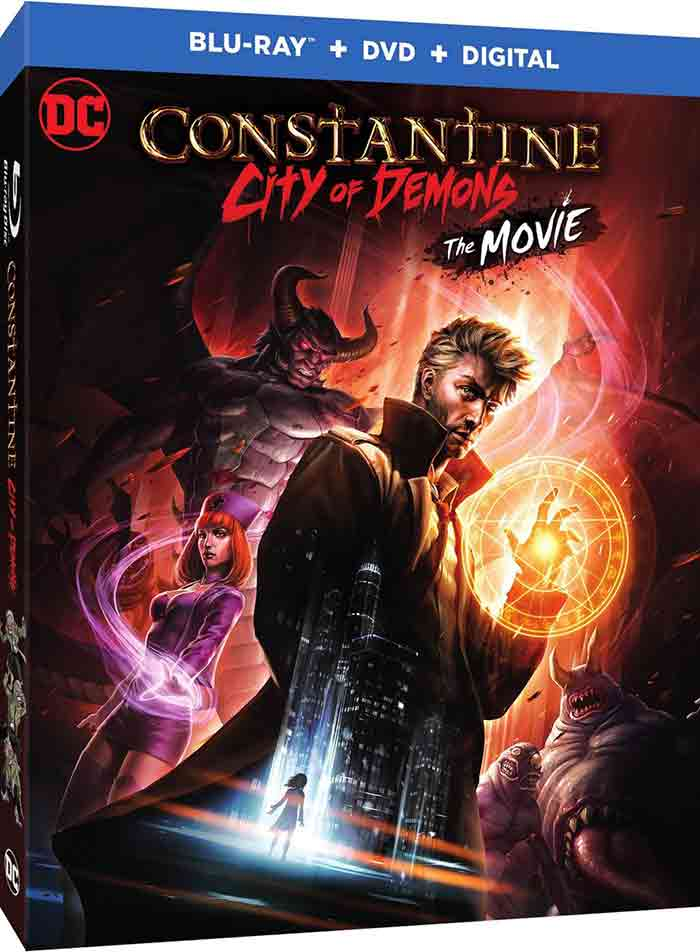 Portada de Constantine: City of Demons