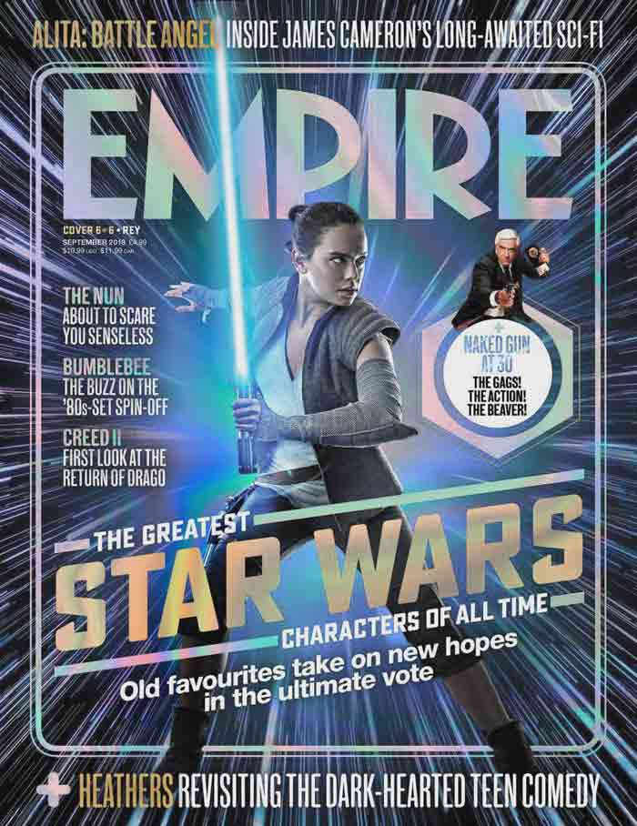 Star Wars 9: Rey como portada de Empire