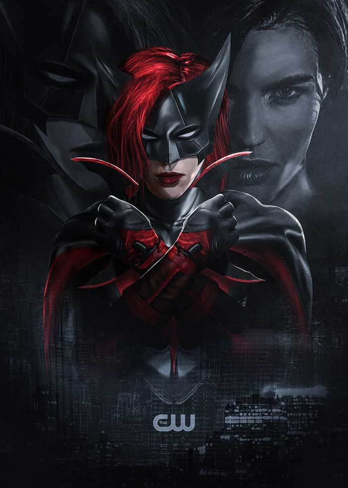 El fan art de Ruby Rose como Batwoman
