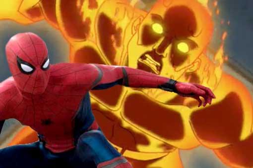 Spider-Man: Lejos de casa Hombre Ígneo