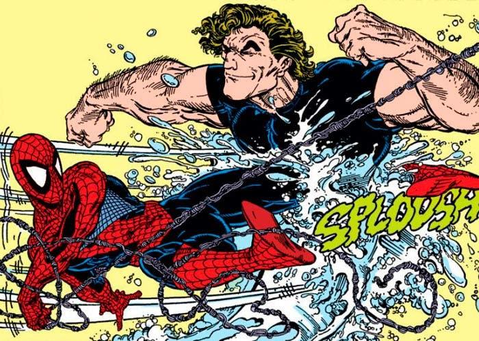 spider-man: Lejos de casa. ¿Hydro-man el villano de la secuela?
