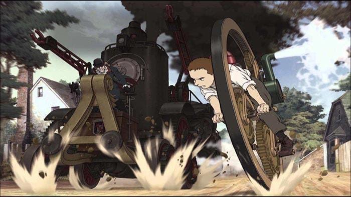 5 animes que podrías ver con tus padres | Steamboy (2004)
