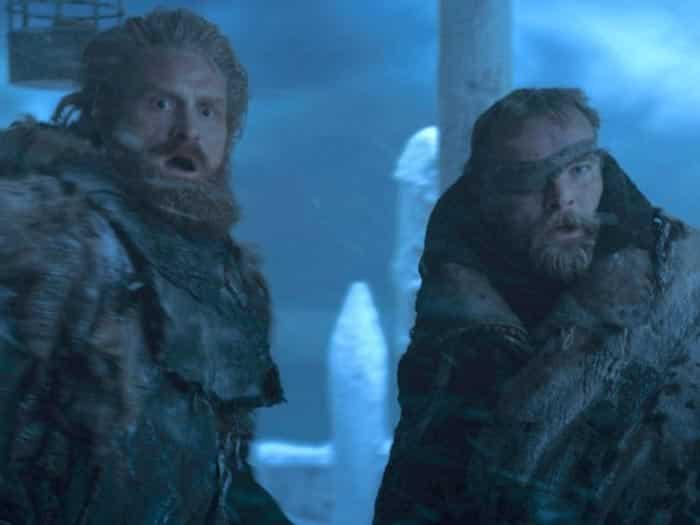 Tormund y Beric en Juego de Tronos (HBO)