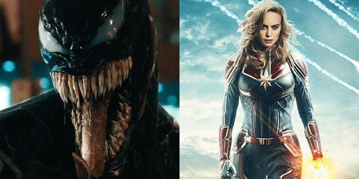 Venom conectará con Capitana Marvel