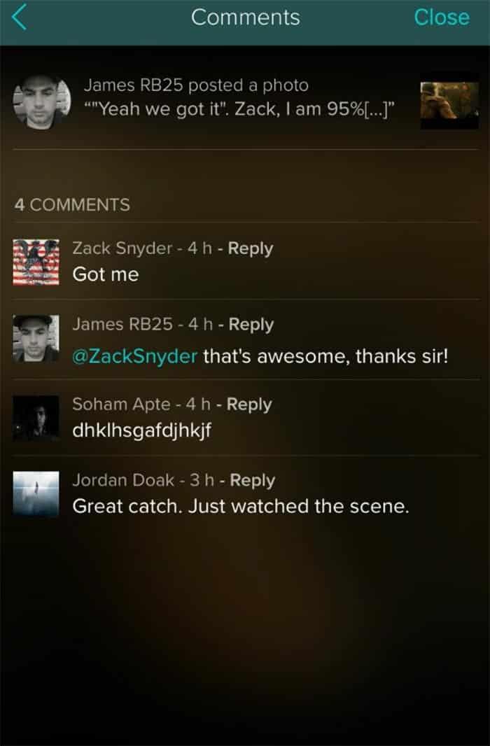 El cameo oculto de Zack Snyder en Batman v Superman: El amanecer de la Justicia