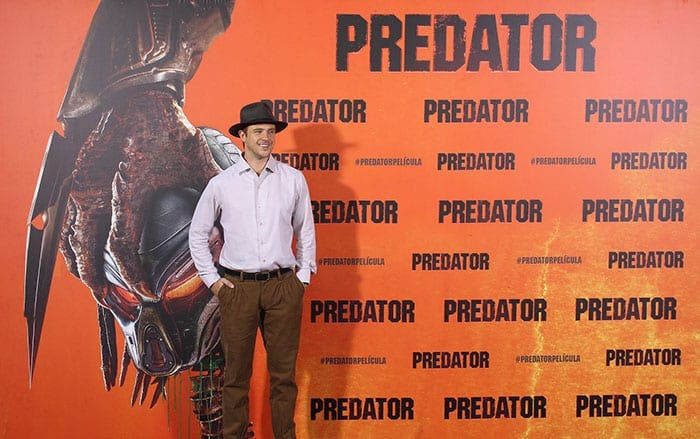 Boyd Holbrook Predator en Madrid