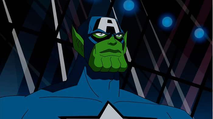 Capitán América (Skrull)