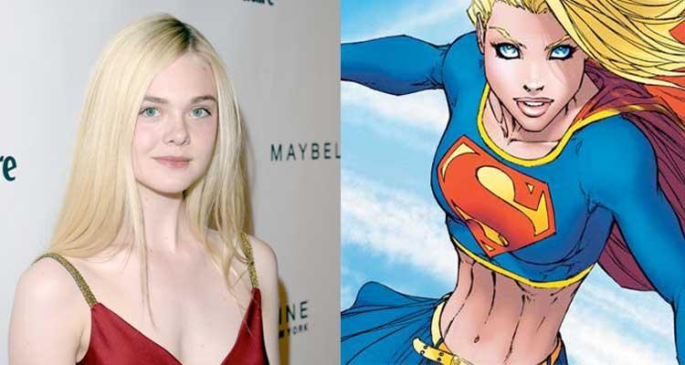 Elle Fanning Supergirl