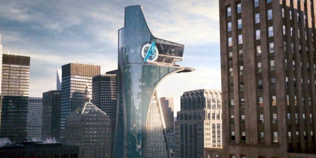 La torre de los Vengadores en Spider-man PS4