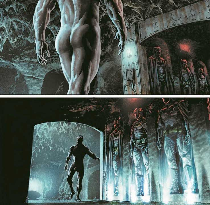 Los errores de DC Comics por el desnudo integral de Batman