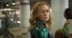Brie Larson como Carol Danvers en el tráiler de Capitana Marvel (2019)