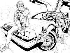 Yuusuke Murata ilustrador de One Punch man anuncia la cancelación de regreso al futuro Manga
