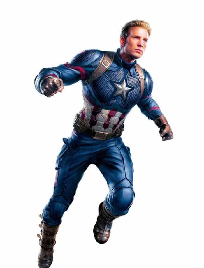 Concept art de Vengadores 4 (2019) | Capitán América