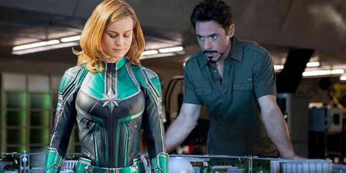 Capitana Marvel y su conexión con Iron Man 2