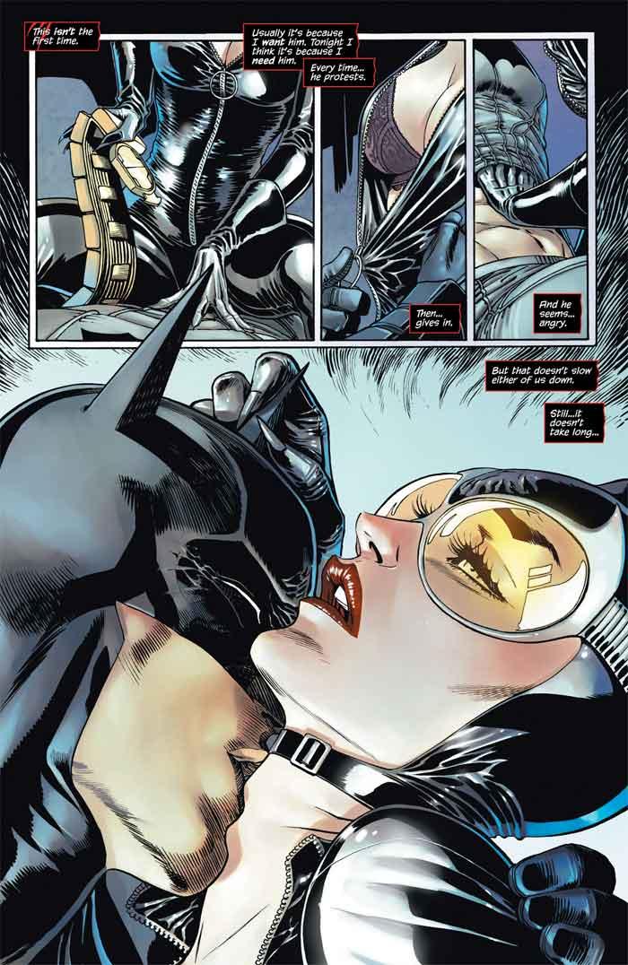 Catwoman sexo Batman