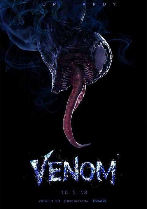 espectacular poster venom