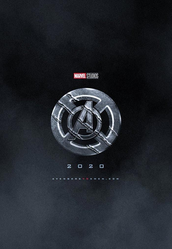 Fan póster de X-Men vs Vengadores (Marvel Studios)