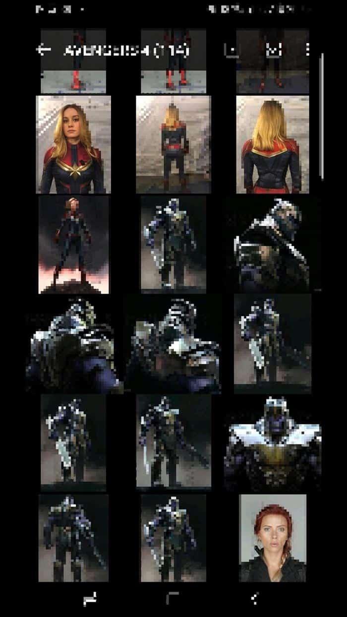 Imágenes de Vengadores 4