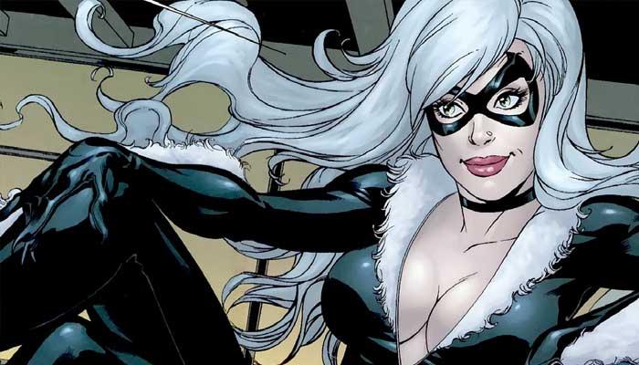 gata negra spiderverso Venom