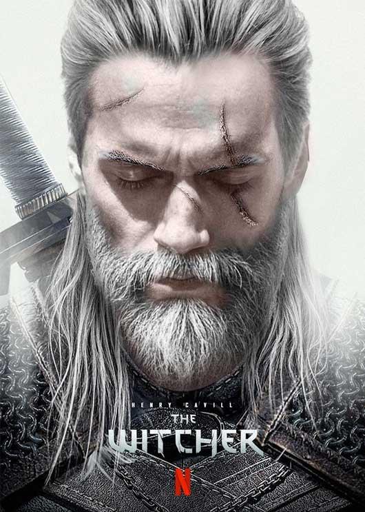Henry Cavill Geralt de Rivia The Witcher Netflix