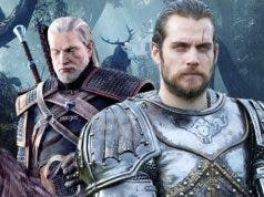 henry cavill superman the witcher Netflix