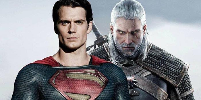 Henry Cavill como Geralt de Rivia para The Witcher (Netflix) y como Superman