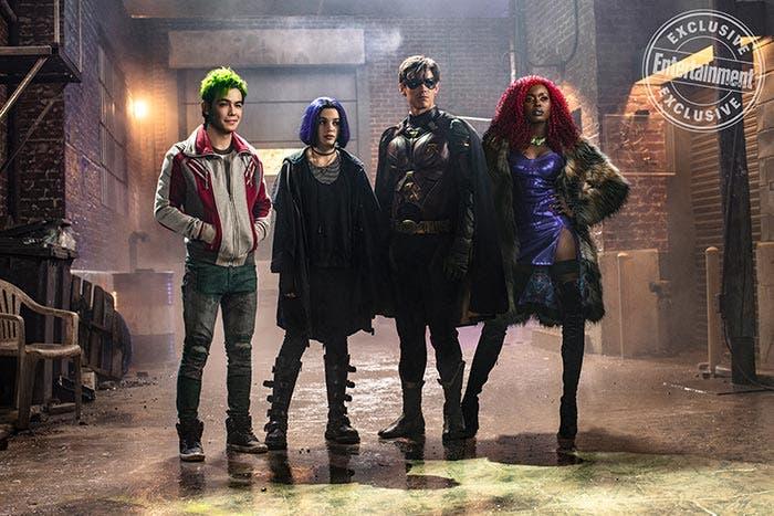 Imagen grupal de Titans (DC Universe)