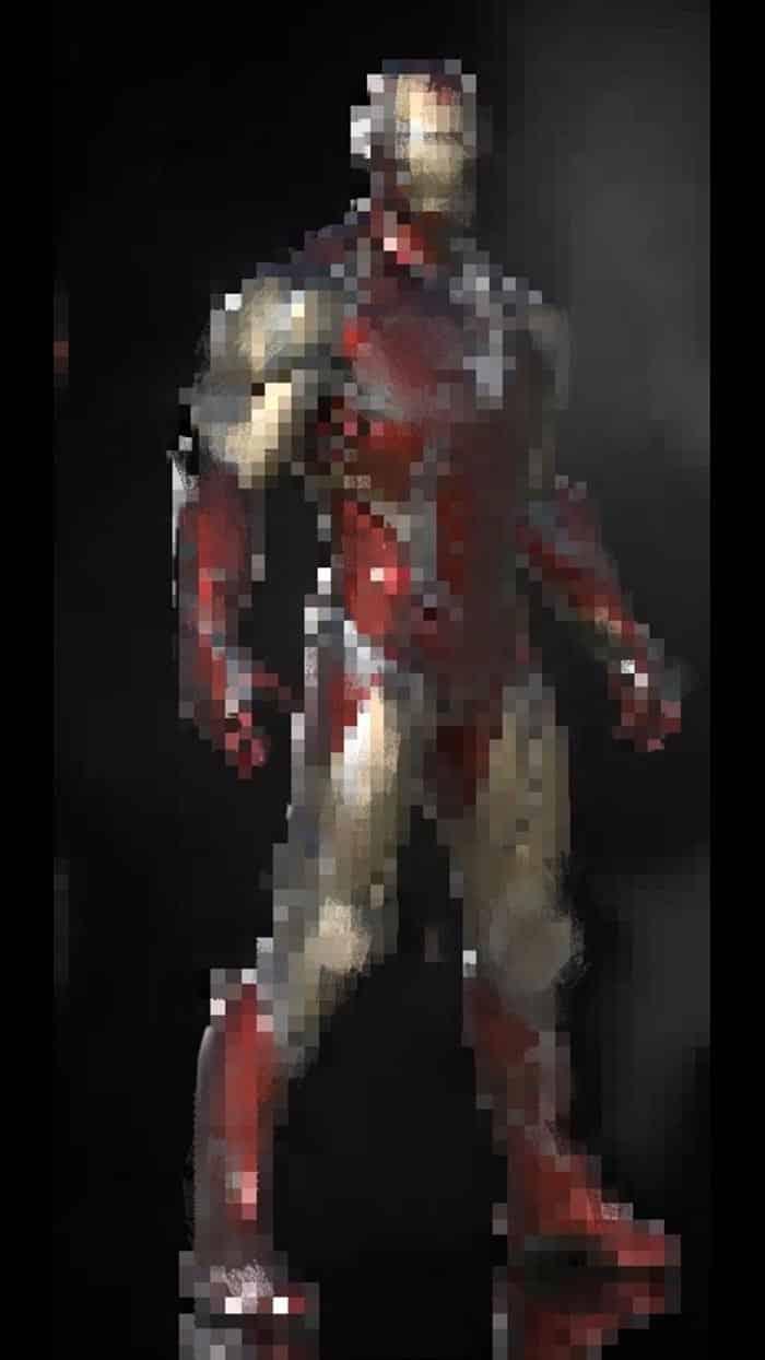 El look de Iron Man en Vengadores 4